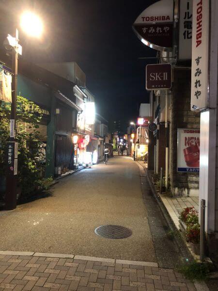 木倉町通り
