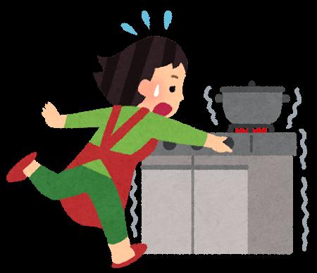 天ぷら火災