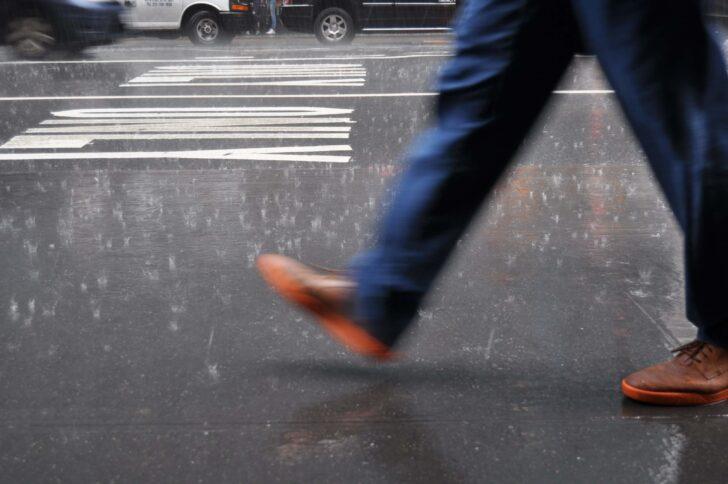 雨の日の歩き方